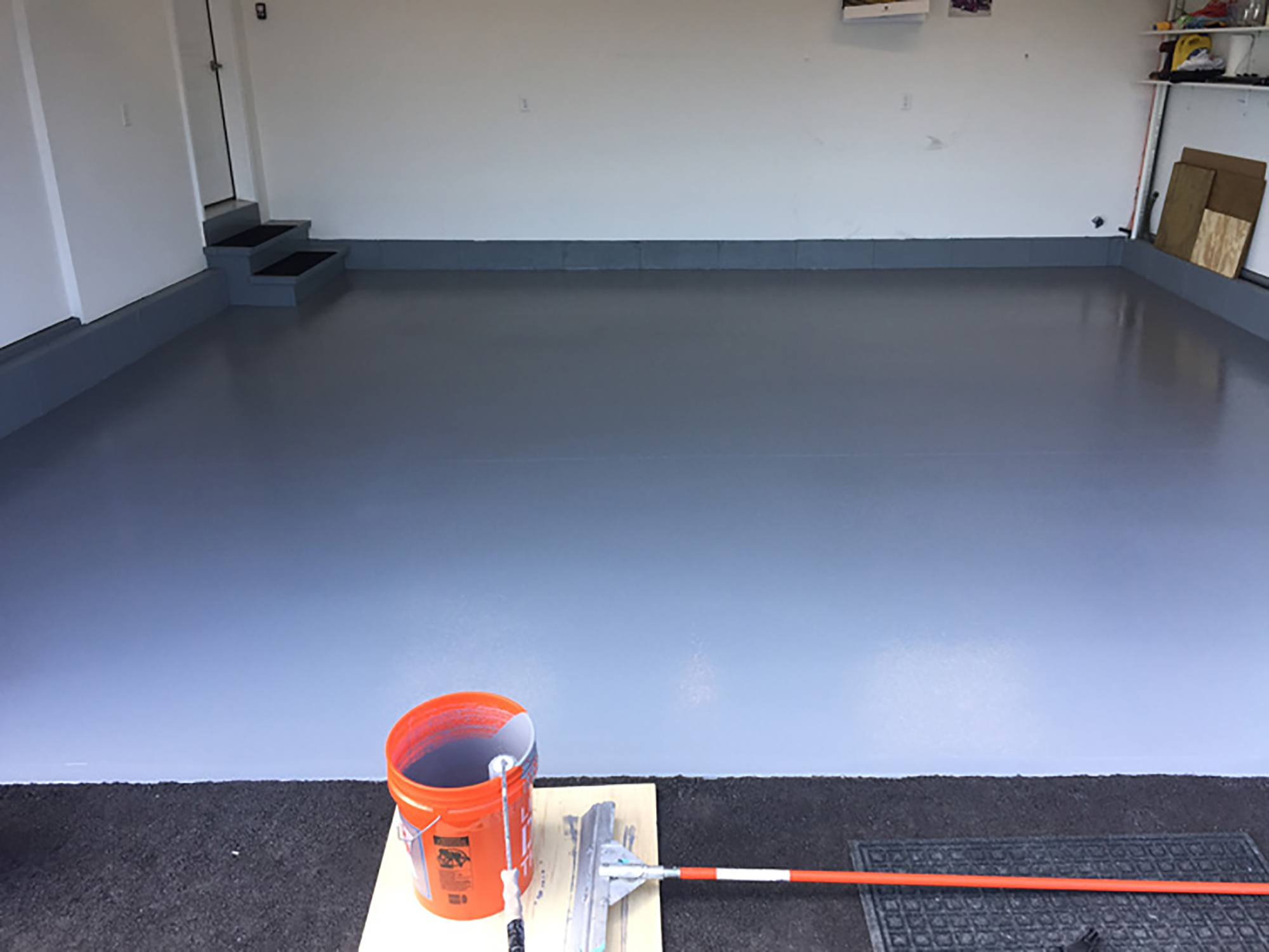 Residential Garage - After Epoxy Install